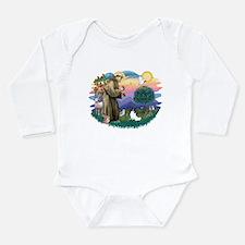 St. Francis #2 / Papillon Long Sleeve Infant Bodys