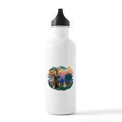 St Francis #2/ PBGV #4 Water Bottle