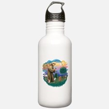 St.Francis #2/ Poodle (Toy A) Water Bottle