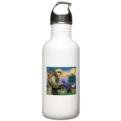 St Francis / Pug Water Bottle