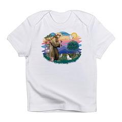 St.Francis #2/ Rat Terrier Infant T-Shirt