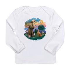 St Francis #2/ R Rback #2 Long Sleeve Infant T-Shi