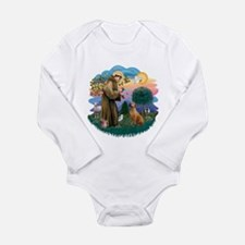 St Francis #2/ R Rback #2 Long Sleeve Infant Bodys