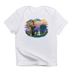 St.Francis #2/ Schnauzer #2 Infant T-Shirt