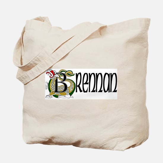 Brennan Celtic Dragon Tote Bag