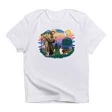 St.Francis #2/ Sheltie (sw) Infant T-Shirt