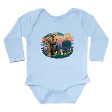 St.Francis #2/ Silky Ter.#9 Long Sleeve Infant Bod