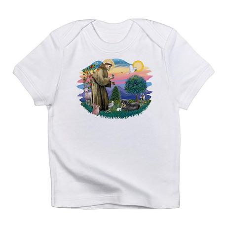 St.Francis #2/ Tibetan Spani Infant T-Shirt