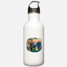 St Francis #2/ Westie Water Bottle