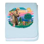 St Francis #2/ Yorkie #7 baby blanket
