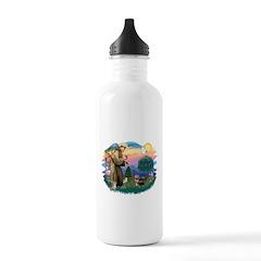 St.Francis #2/ Yorkie (#9) Water Bottle
