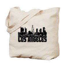 Los Angeles Skyline Tote Bag
