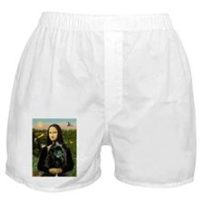 Mona & Her Bouvier Boxer Shorts