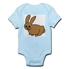 Brown Bunny Infant Creeper
