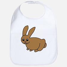 Brown Bunny Bib