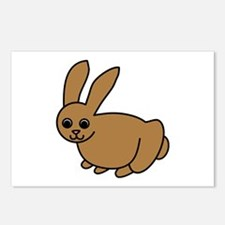 Brown Bunny Postcards (Package of 8)