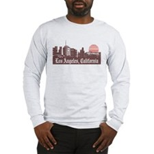 Los Angeles Linesky Long Sleeve T-Shirt