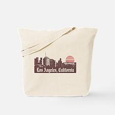 Los Angeles Linesky Tote Bag