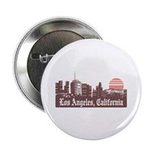 """Los Angeles Linesky 2.25"""" Button"""