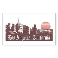Los Angeles Linesky Decal