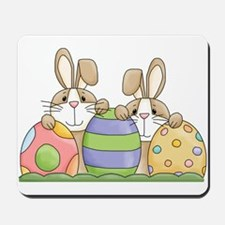 Easter Bunny Inside Easter Egg Mousepad
