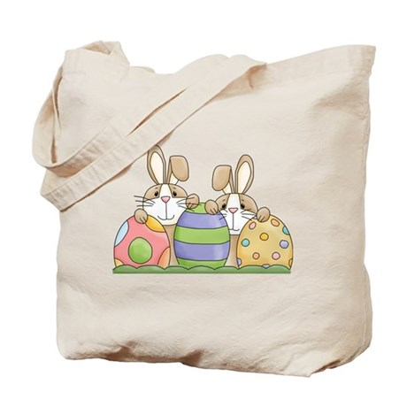 Easter Bunny Inside Easter Egg Tote Bag