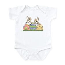 Easter Bunny Inside Easter Egg Infant Bodysuit