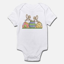 Easter Bunny Inside Easter Egg Infant Bodysuit
