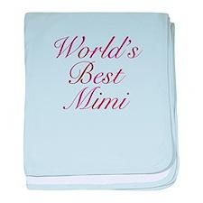 World's Best Mimi baby blanket