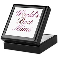 World's Best Mimi Keepsake Box