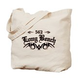 Long beach Canvas Totes