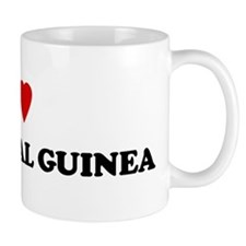 I Love Equatorial Guinea Mug