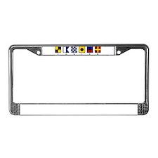 Funny Ga License Plate Frame