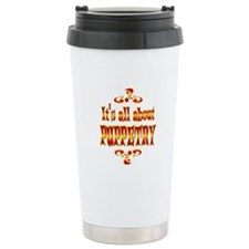 About Puppetry Travel Mug