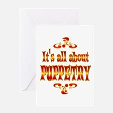About Puppetry Greeting Card