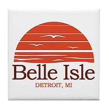 Belle Isle Tile Coaster
