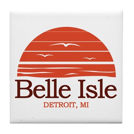 Belle Isle Tile Coaster