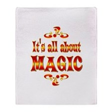 About Magic Throw Blanket