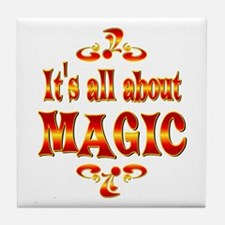 About Magic Tile Coaster