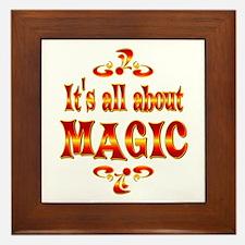 About Magic Framed Tile