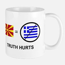 Macedonian not Greek Mug