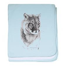 Krazy Irish Cougar baby blanket