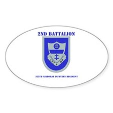 DUI - 2nd Bn - 325th Airborne Infantry Regt with T