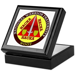 Warrior Fraternity Keepsake Box
