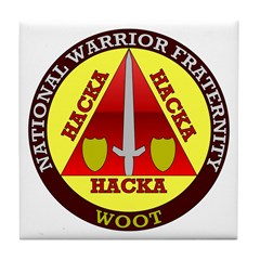 Warrior Fraternity Tile Coaster