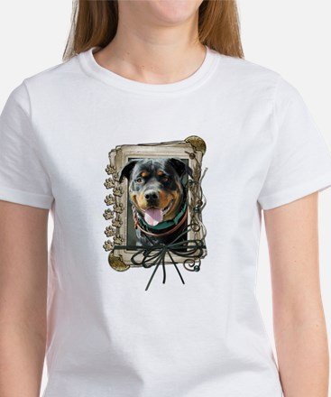 Father's Day - Stone Paws Women's T-Shirt