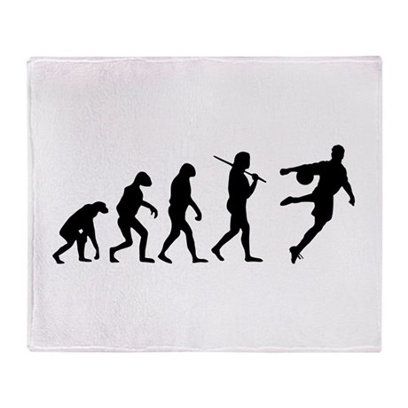 The Evolution Of The Soccer Player Throw Blanket