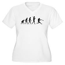 The Evolution Of The Baseball Batter T-Shirt