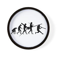 The Evolution Of The Baseball Batter Wall Clock