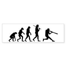 The Evolution Of The Baseball Batter Bumper Sticker